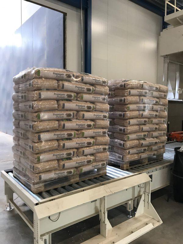 houtpellets verpakken