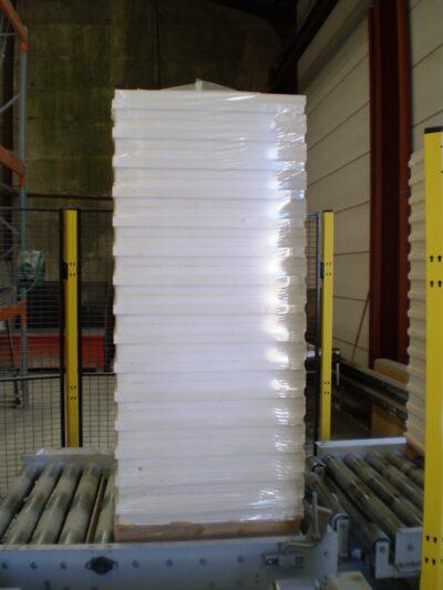 hoe pallets verpakken